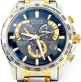 Estate Citizen Eco-Drive two-tone stainless steel wristwatch