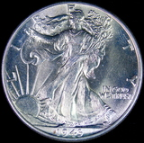 1943 U.S. walking Liberty half dollar