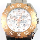 Estate Invicta Reserve stainless steel chronograph wristwatch