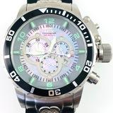 Like-new Invicta Corduba stainless steel chronograph wristwatch