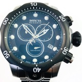 Like-new Invicta Venom stainless steel chronograph wristwatch