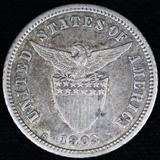1903-S Philippines 10 centavo
