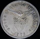 1906 proof Philippines 5 centavo