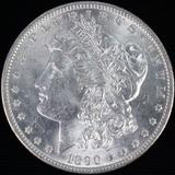 1890 U.S. Morgan silver dollar
