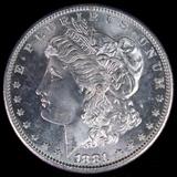 1881-S U.S. Morgan silver dollar