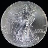 1996 U.S. American Eagle silver dollar
