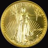 1990 U.S. American Eagle $10 1/4oz gold coin