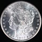 1883-CC U.S. Morgan silver dollar