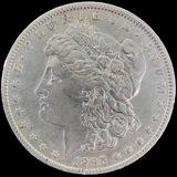 1895-O U.S. Morgan silver dollar