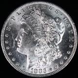 1883-O U.S. Morgan silver dollar