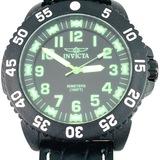 Estate Invicta carbon fiber wristwatch