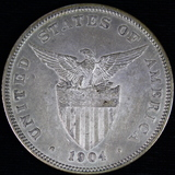 1904 proof Philippines 50 centavo