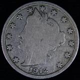 1912-S U.S. V nickel