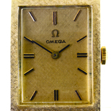 Authentic vintage Omega 14K yellow gold wristwatch