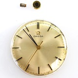 Authentic estate Omega Genève gold-plated movement