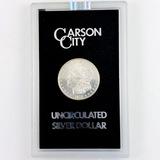 Certified 1878-CC GSA U.S. Morgan silver dollar