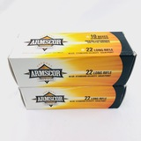 Lot of 1000 rounds of boxed Armscor Precision .22LR 40 grain standard velocity solid point ammo