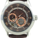 Estate Bulova stainless steel automatic wristwatch