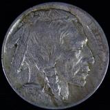 1913-D type 1 U.S. buffalo nickel