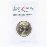 Certified 2007-P U.S. Kennedy half dollar