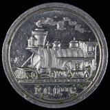 Guadalajara, Mexico F.C.O. railroad token