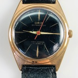 Authentic estate Omega Genève gold-plated stainless steel wristwatch
