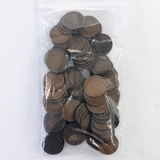 Lot of 100 good or better U.S. Indian cents