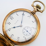 Circa 1916 17-jewel Elgin grade 831 covered pocket watch