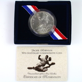 1997 U.S. Jackie Robinson commemorative silver dollar