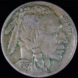 1927-D U.S. buffalo nickel