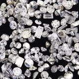 Unmounted diamonds