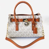 Authentic estate Michael Kors leather handbag