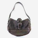 Authentic estate Coach leather shoulder bag