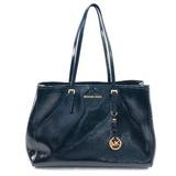 Authentic estate Michael Kors patent leather shoulder bag