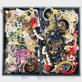 Lot of 10.8 lbs of estate fashion jewelry