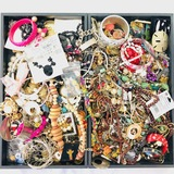 Lot of 10.4 lbs of estate fashion jewelry
