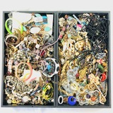 Lot of 10.2 lbs of estate fashion jewelry