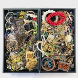 Lot of 10.0 lbs of estate fashion jewelry