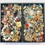 Lot of 9.4 lbs of estate fashion jewelry