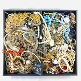 Lot of 13.0 lbs of estate fashion jewelry