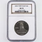 Certified 2003.-P U.S. First Flight commemorative half dollar