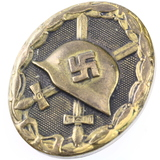 Genuine Nazi Germany Wehrmacht wound badge, third class