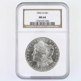 Certified 1902-O U.S. Morgan silver dollar