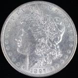 1897-O U.S. Morgan silver dollar