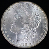 1898-O U.S. Morgan silver dollar