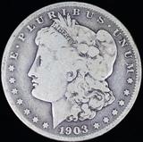 1903-S U.S. Morgan silver dollar