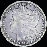 1879-CC U.S. Morgan silver dollar