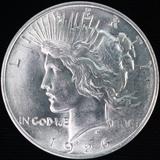 1926-D U.S. peace silver dollar