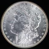 1889 U.S. Morgan silver dollar