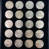 Lot of 20 uncirculated 1884-O U.S. Morgan silver dollars